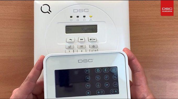 A DSC WP8010 Riasztóközpont Programozása